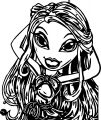 Bratz My Hair Coloring Page