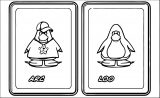 Catch A Cheating Boyfriend On Club Penguin Coloring Page
