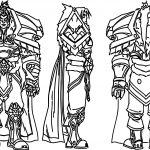 Character Design Varian Cartoon Coloring Page
