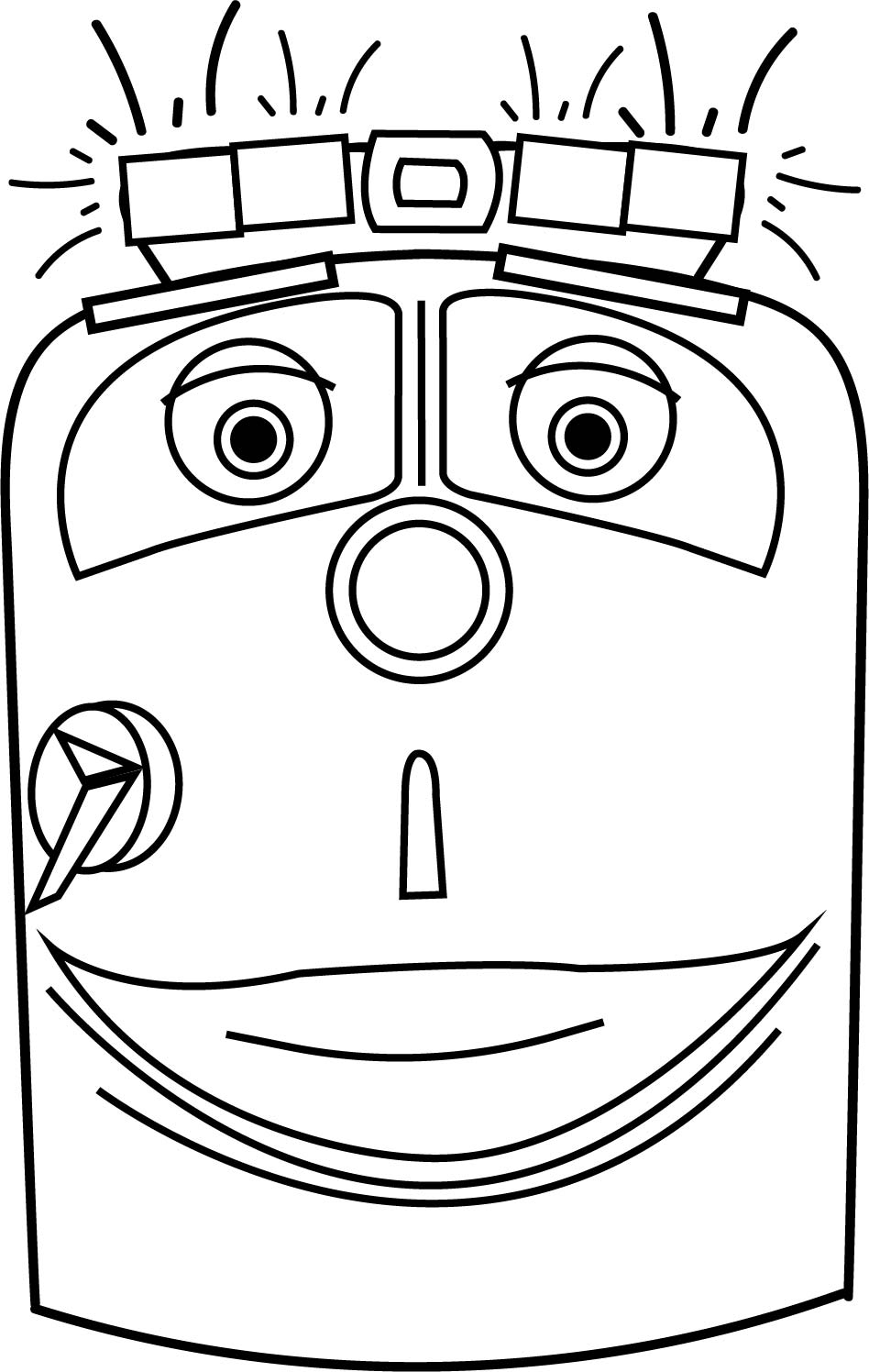Chuggington Chief Coloring Page