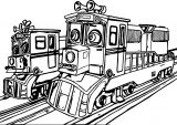Chuggington Dunbar And His Daughter Agatha Coloring Page