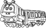 Chuggington Emery Coloring Page