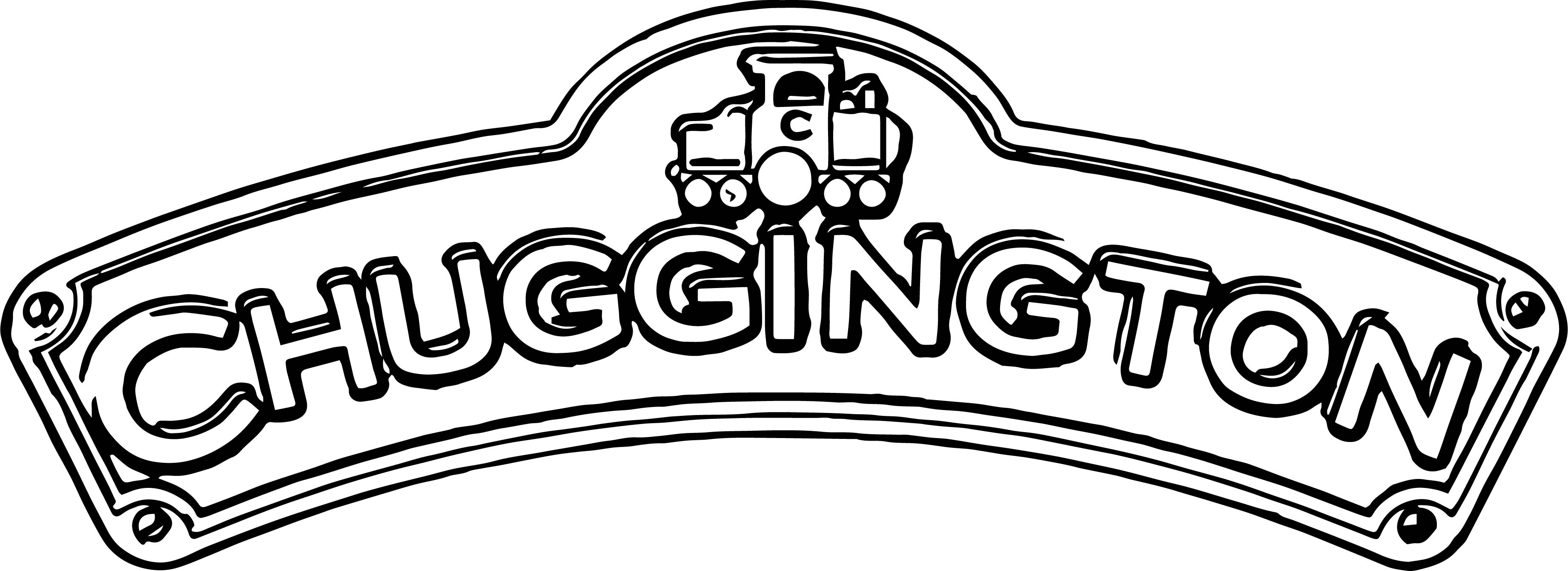 Chuggington Logo Coloring Page