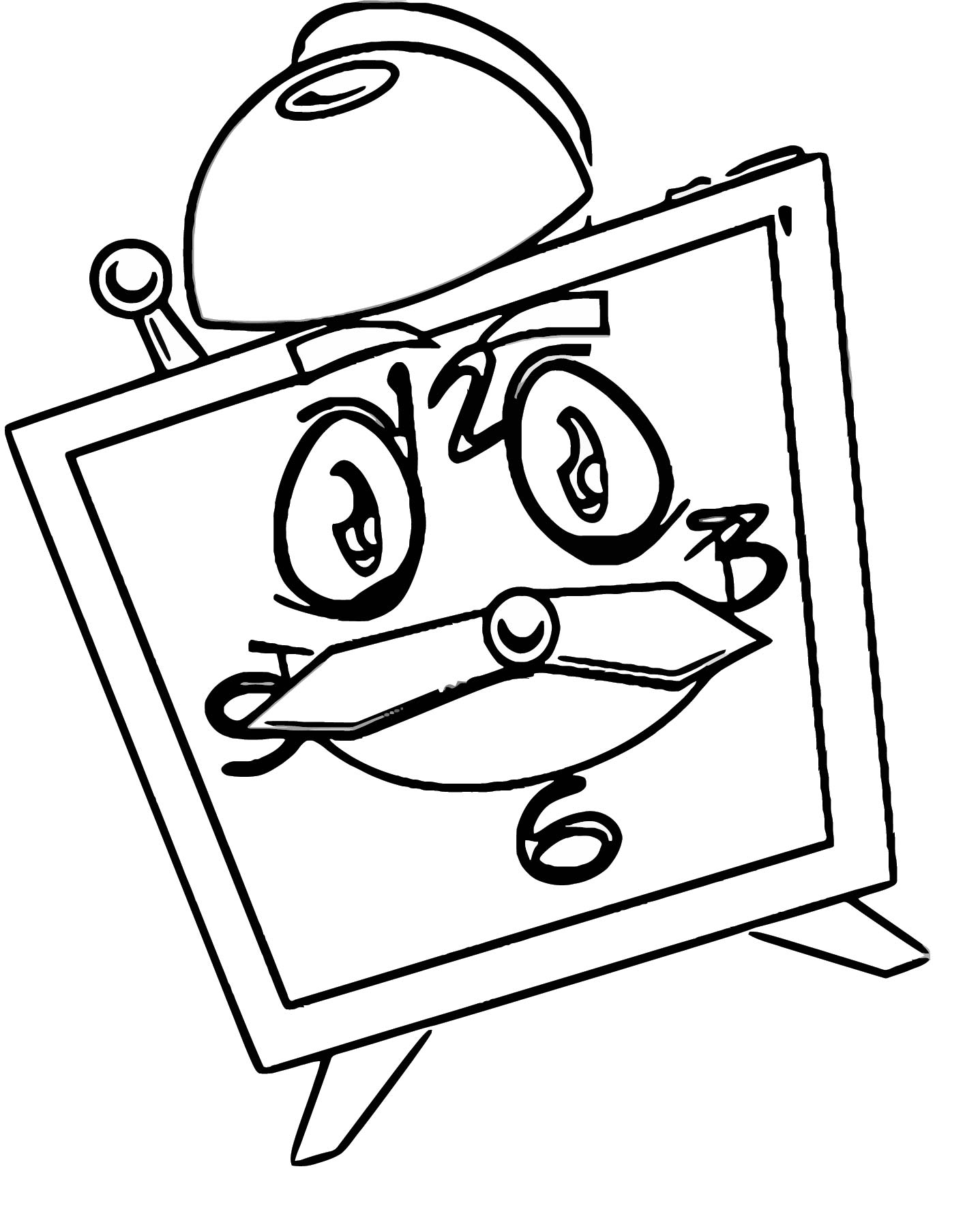 Cloc Free Printable K9 Cartoonized Free Printable Coloring Page ...