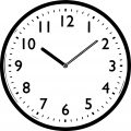 Clock Coloring Page WeColoringPage 010