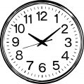 Clock Coloring Page WeColoringPage 037