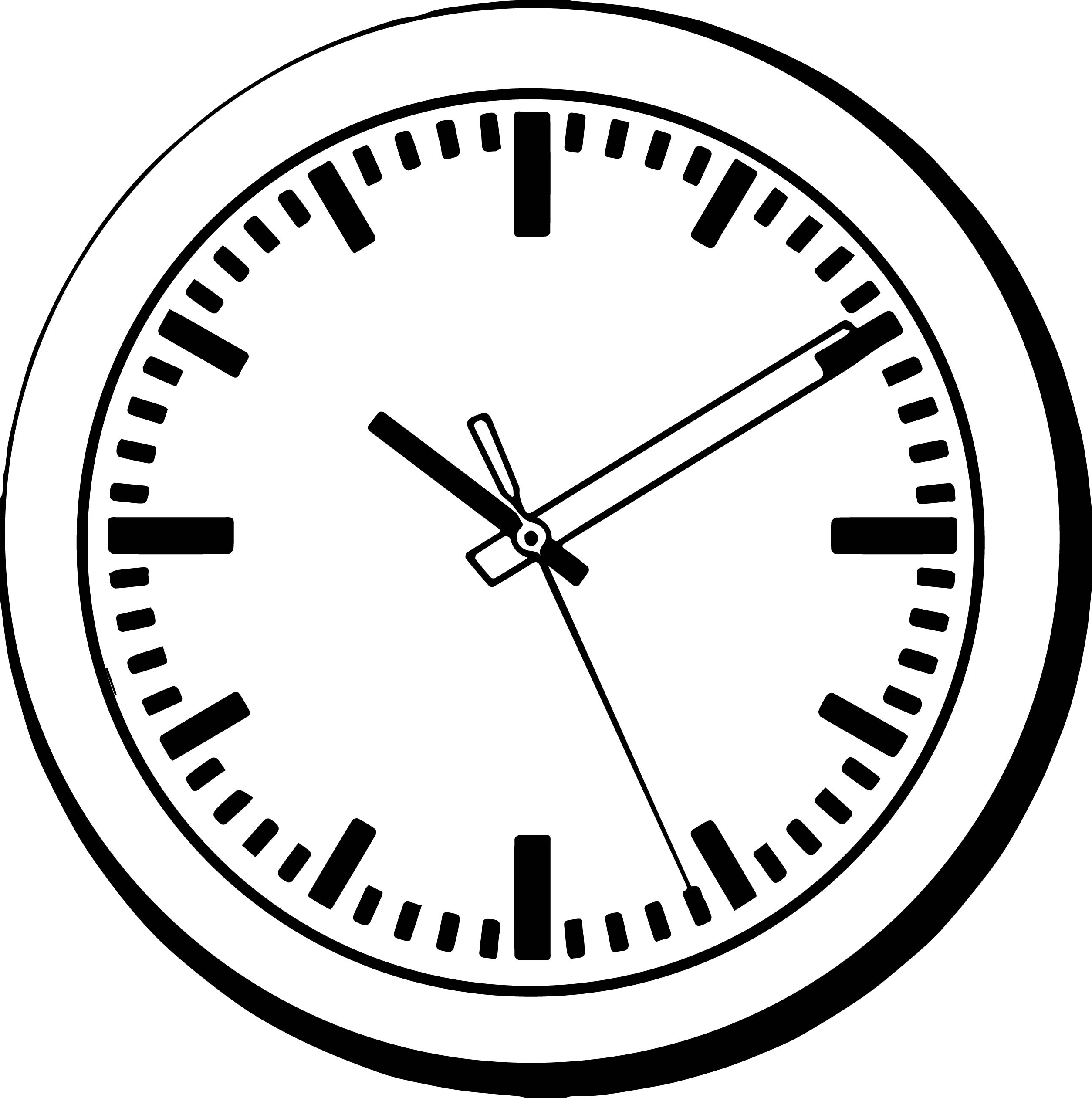 Clock Coloring Page WeColoringPage 166
