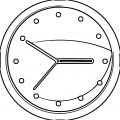 Clock Final Clip A Free Printable Rt Cartoonized Free Printable Coloring Page