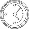 Clock Md Free Printable 2 Cartoonized Free Printable Coloring Page