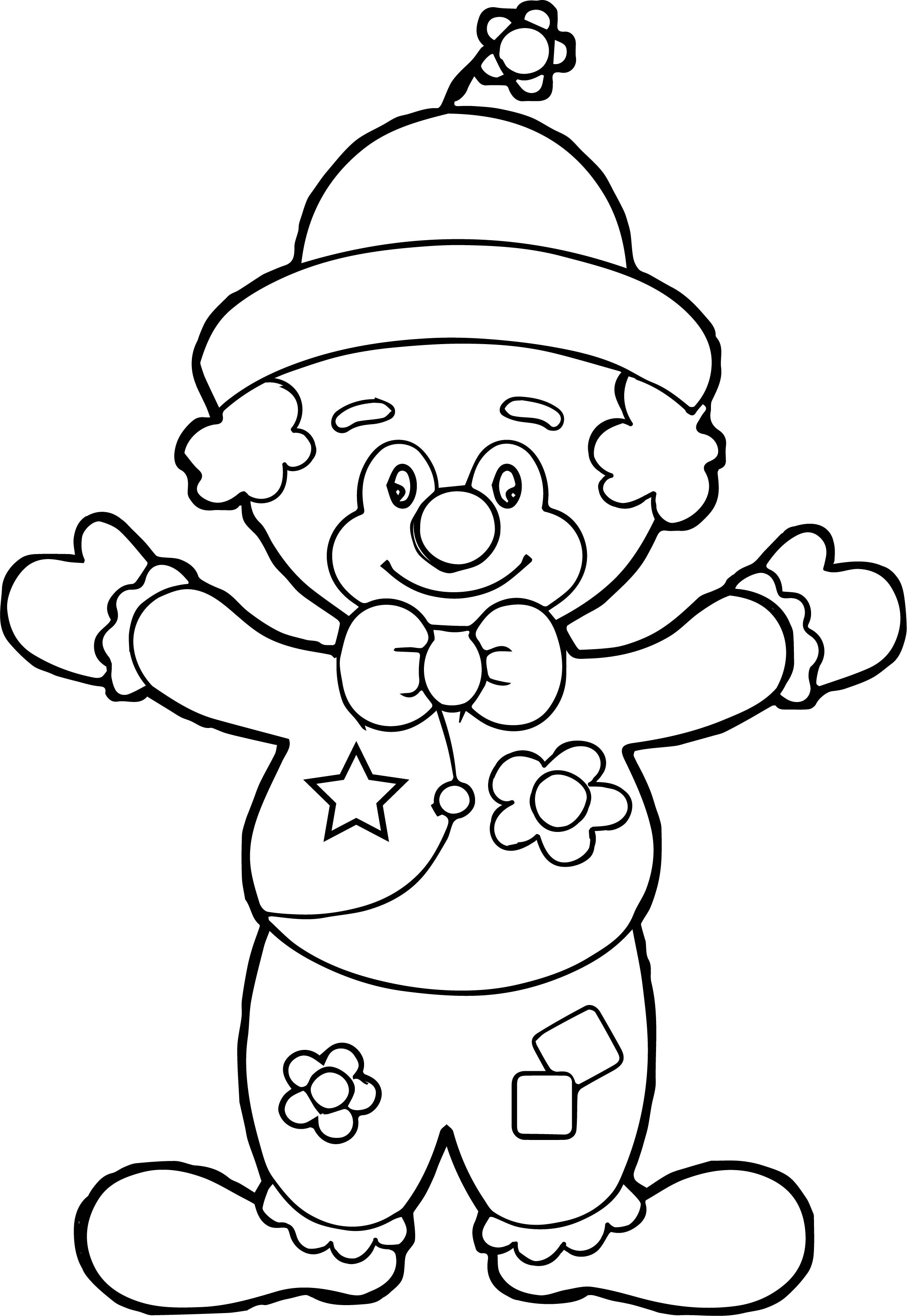 Clown Coloring Page WeColoringPage 005