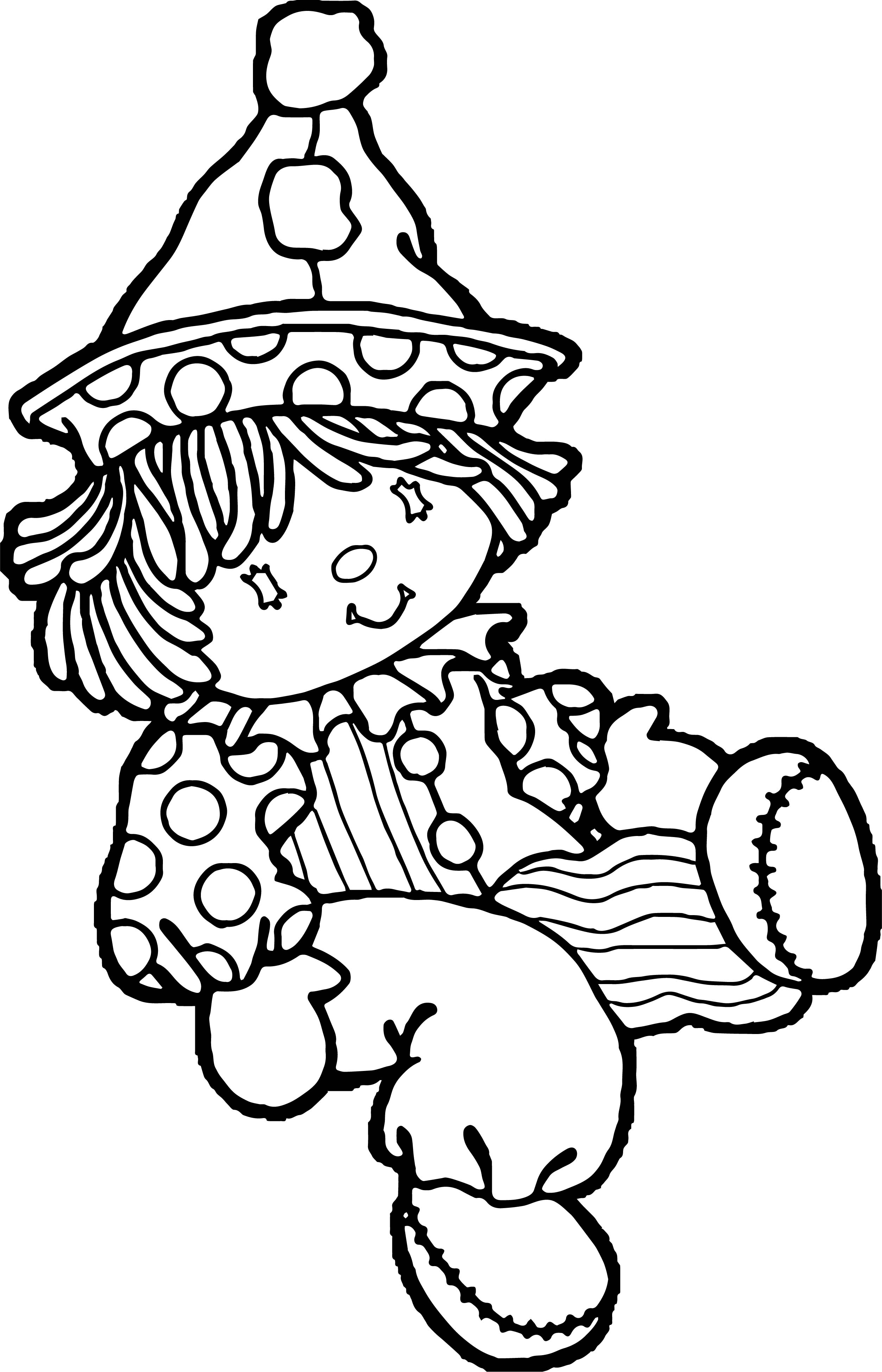 Clown Coloring Page WeColoringPage 008