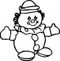 Clown Coloring Page WeColoringPage 010