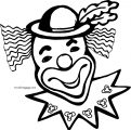 Clown Coloring Page WeColoringPage 012