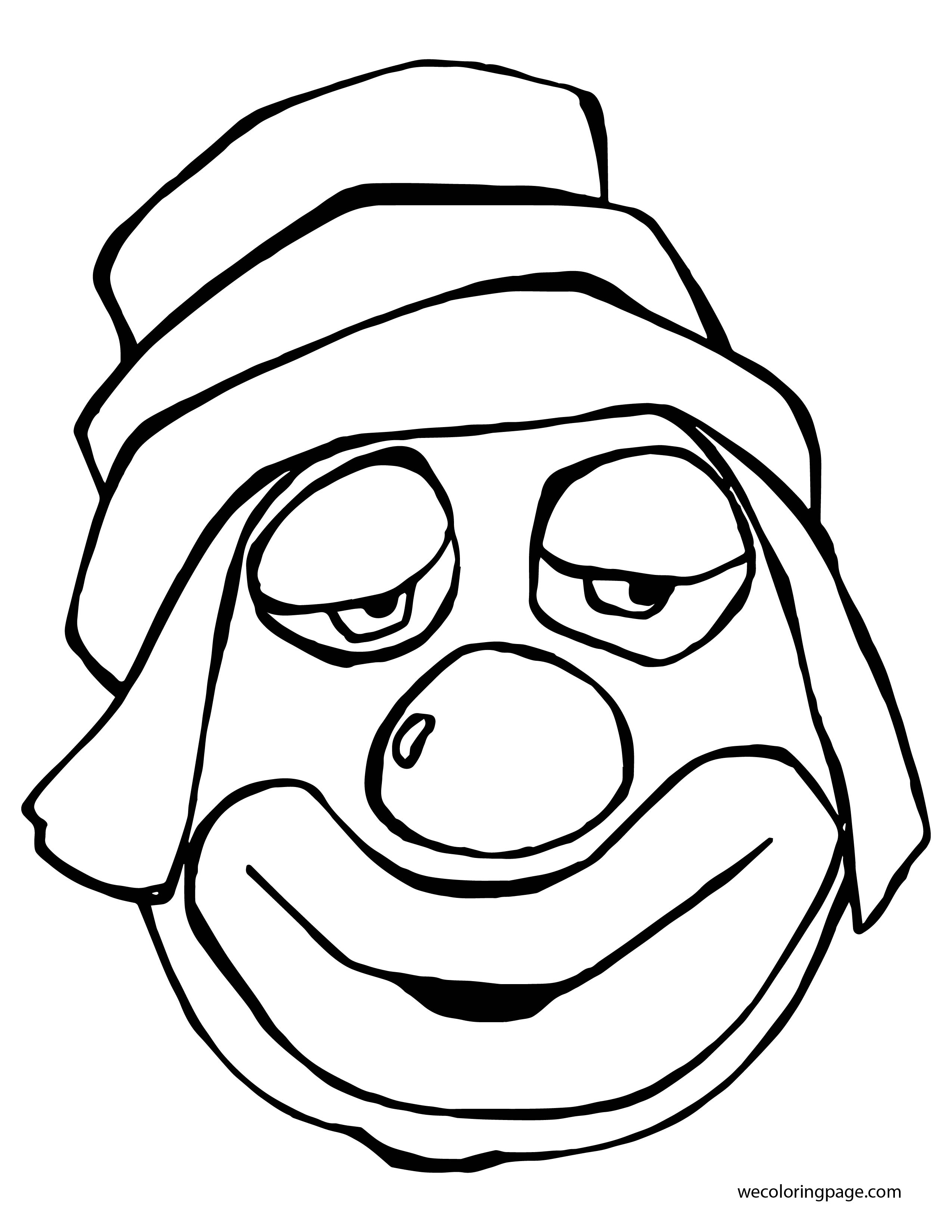 Clown Coloring Page WeColoringPage 069 01