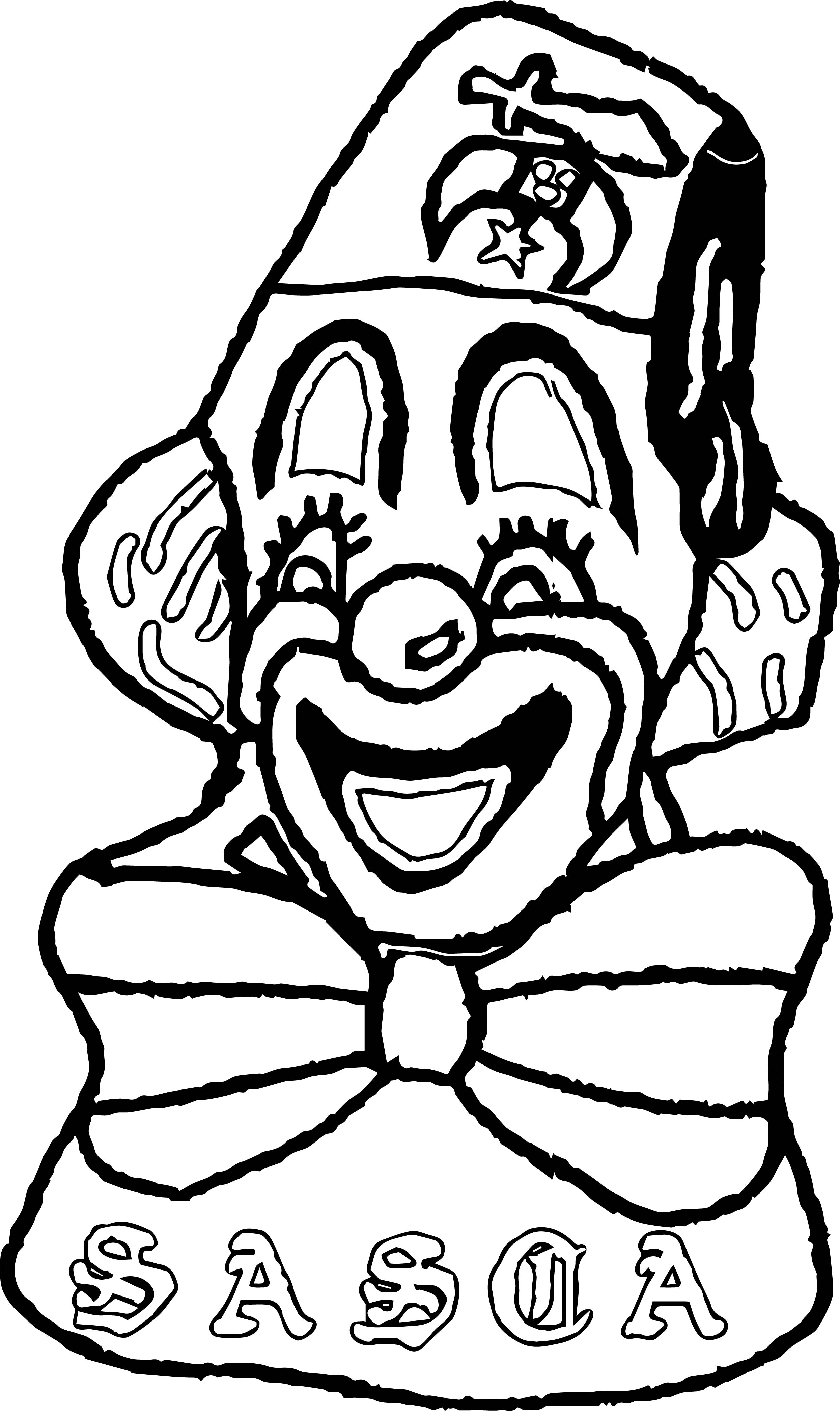 Clown Coloring Page WeColoringPage 078