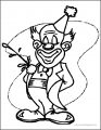 Clown Wecoloringpage A4 02 Coloring Page