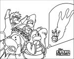 Club Penguin Club Penguin 3 Coloring Page