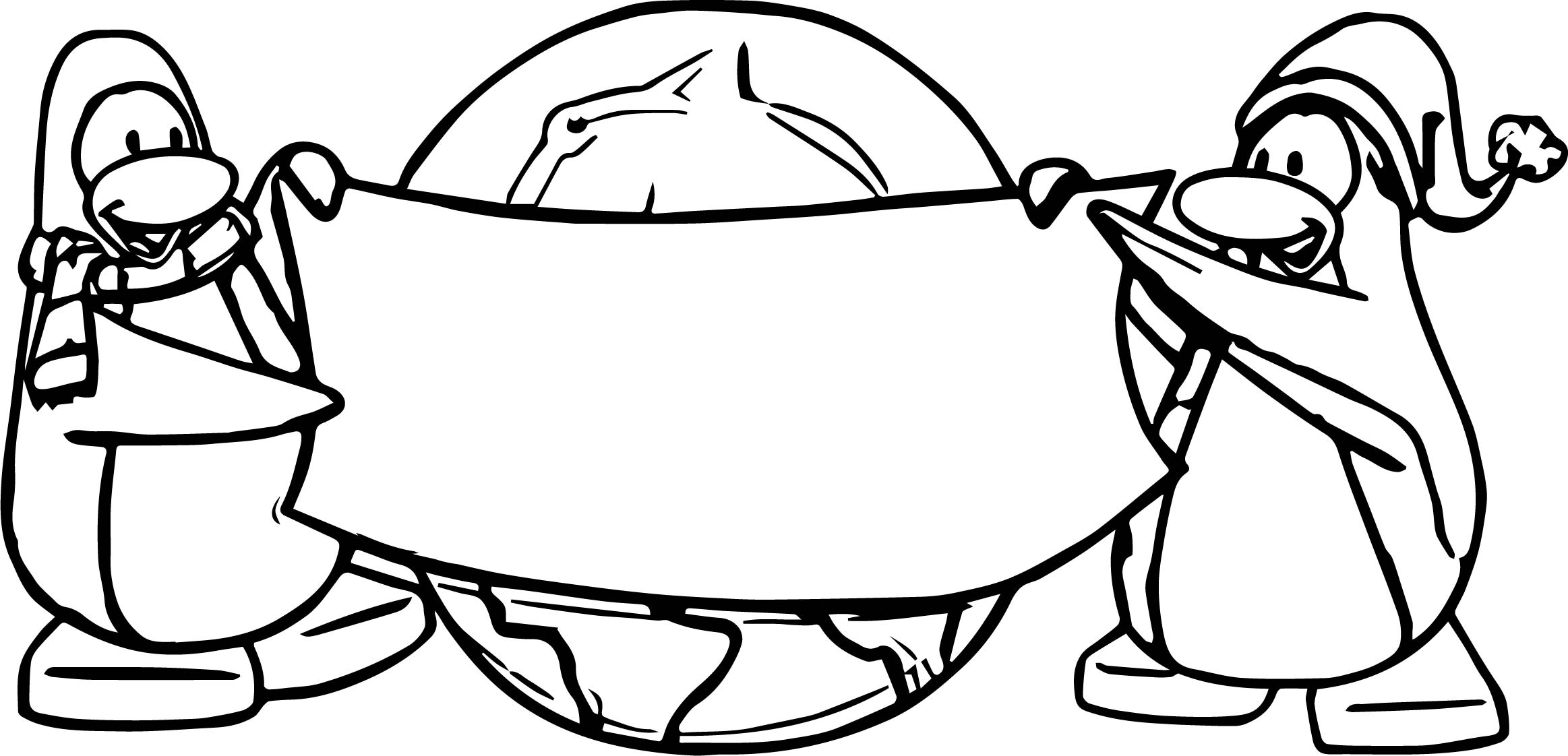 cadence club penguin coloring pages - photo#46