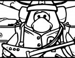Club Penguin Coloring Page 42
