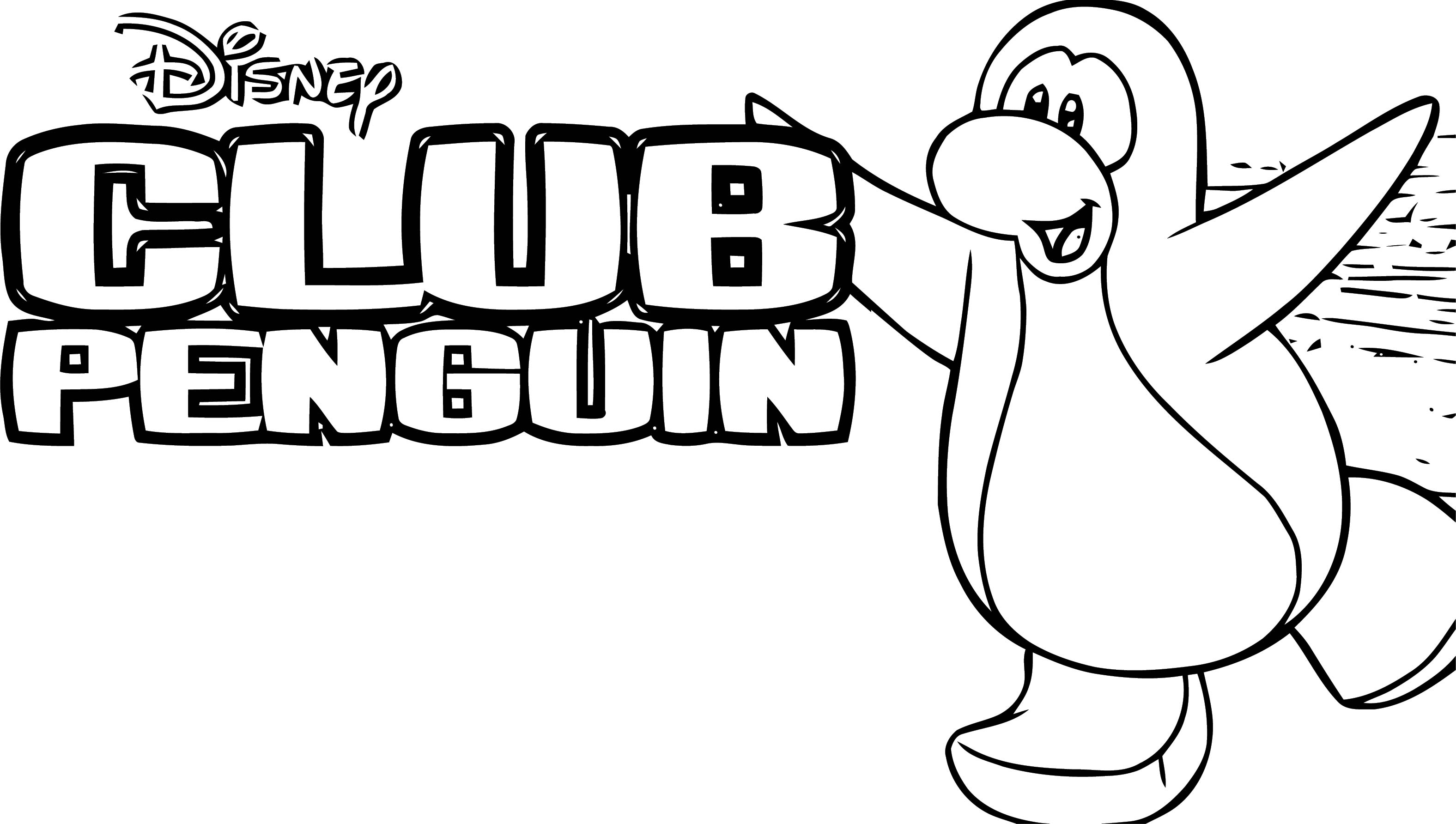 Club Penguin Coloring Page 74