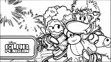 Club Penguin Coloring Page 75