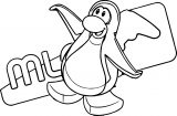 Club Penguin Coloring Page 78