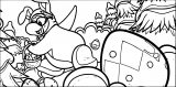 Club Penguin Easter Egg Hunt Coloring Page