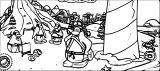 Club Penguin Inicio De Ninjas Coloring Page