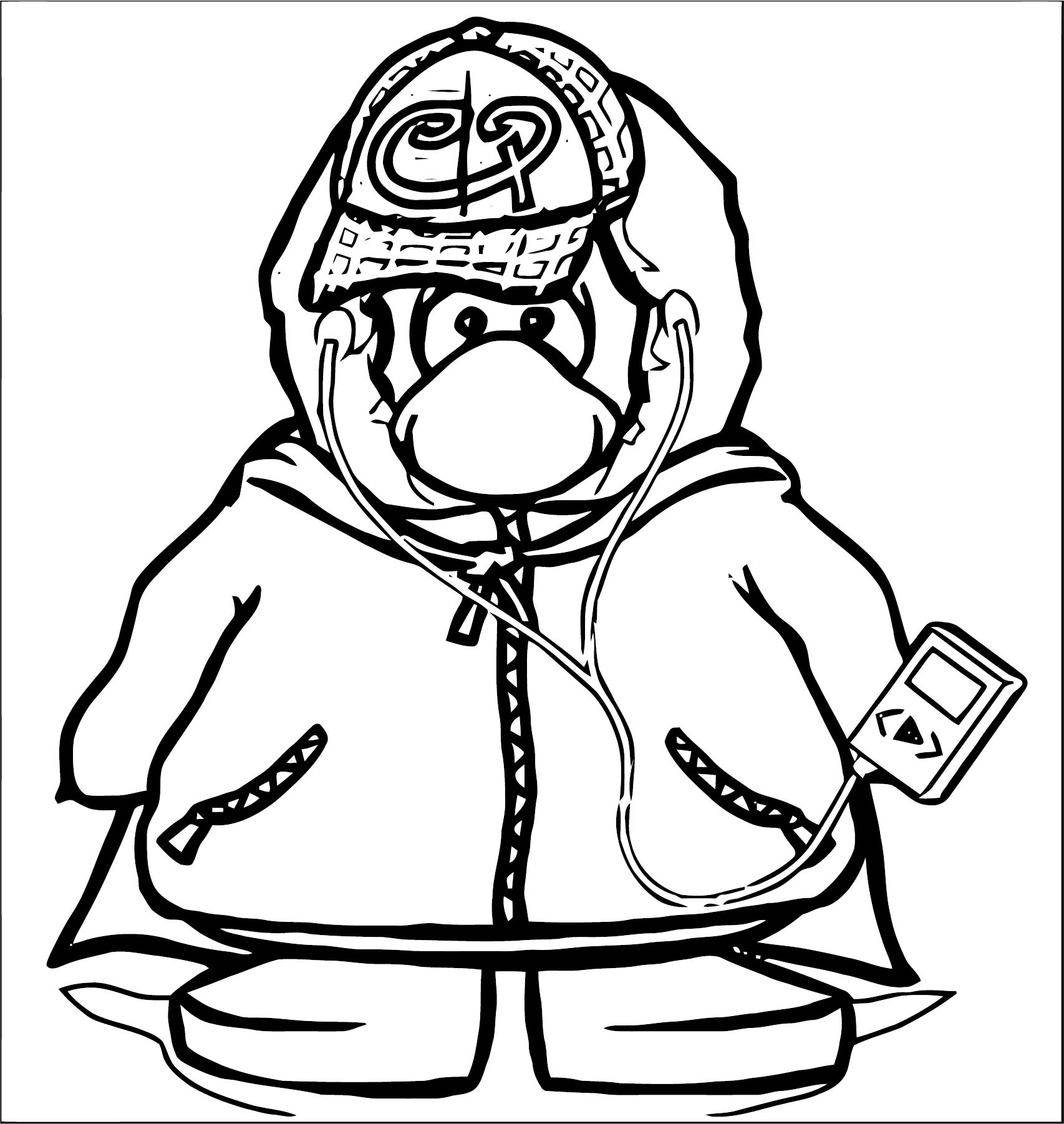 Club Penguin Toy Codes Coloring Page