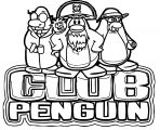 ClubPenguin 2 Coloring Page