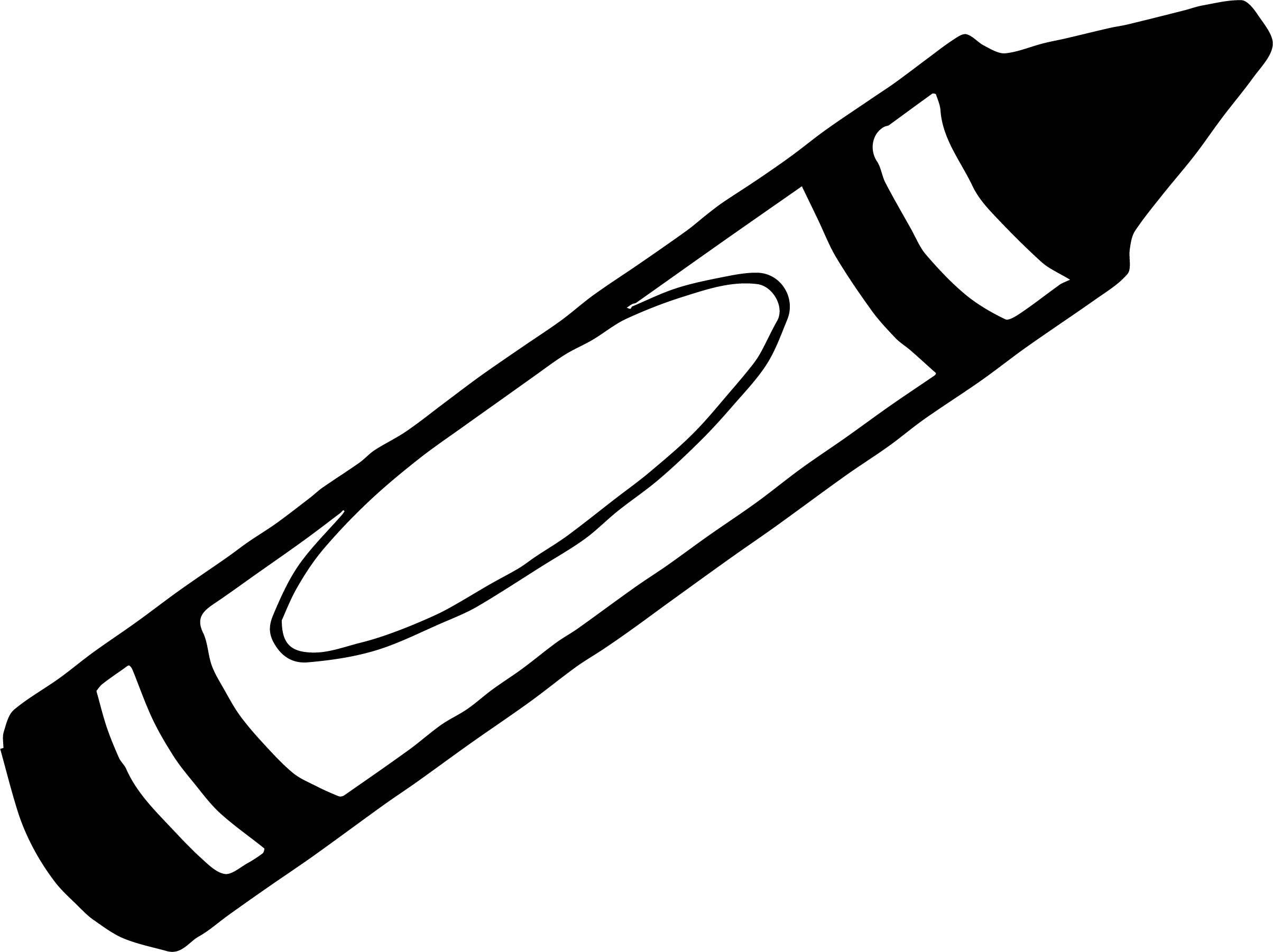 Crayon We Coloring Page 034