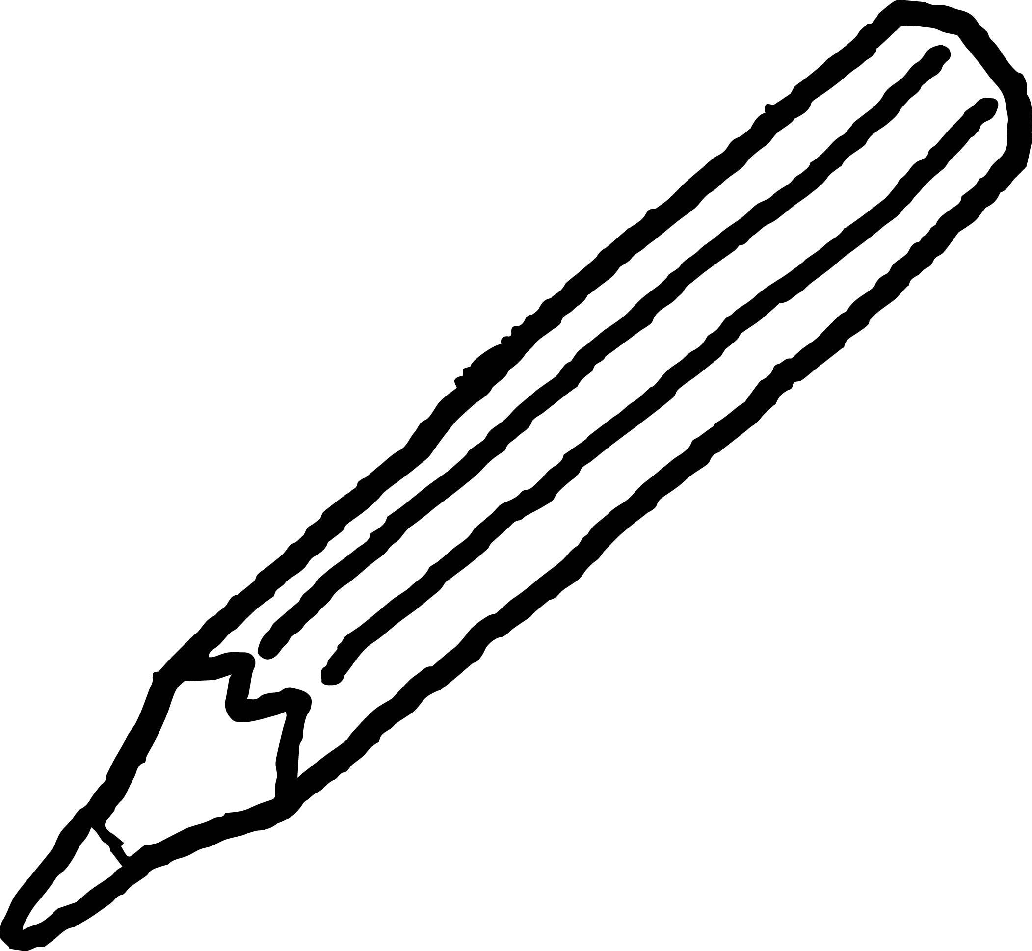 Crayon We Coloring Page 064