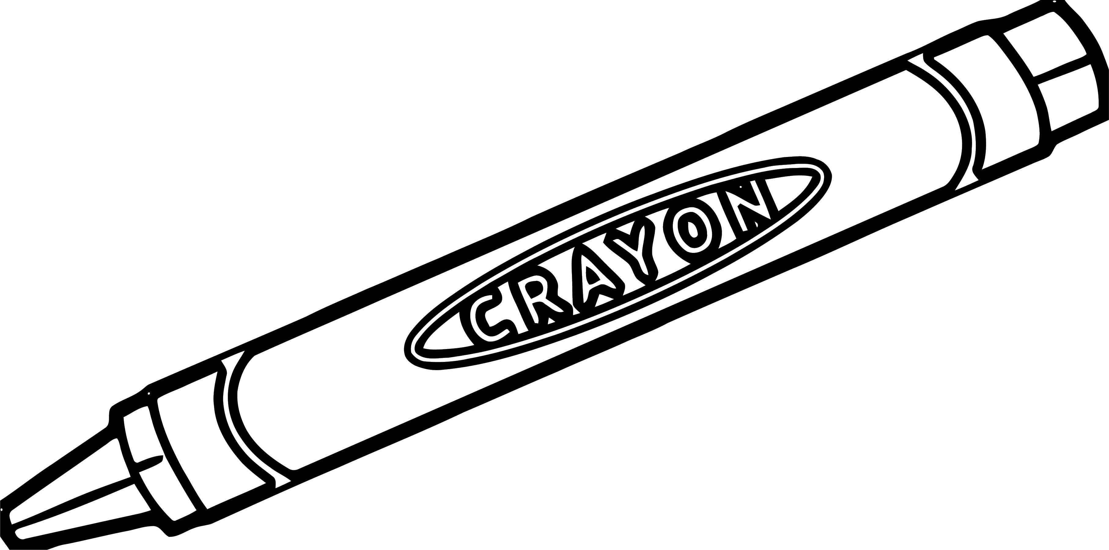 Crayon We Coloring Page 078