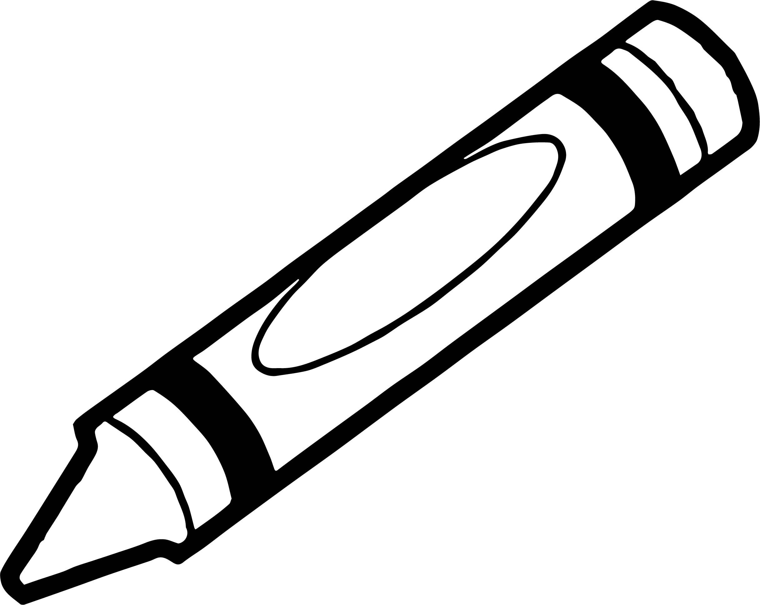 Crayon We Coloring Page 085