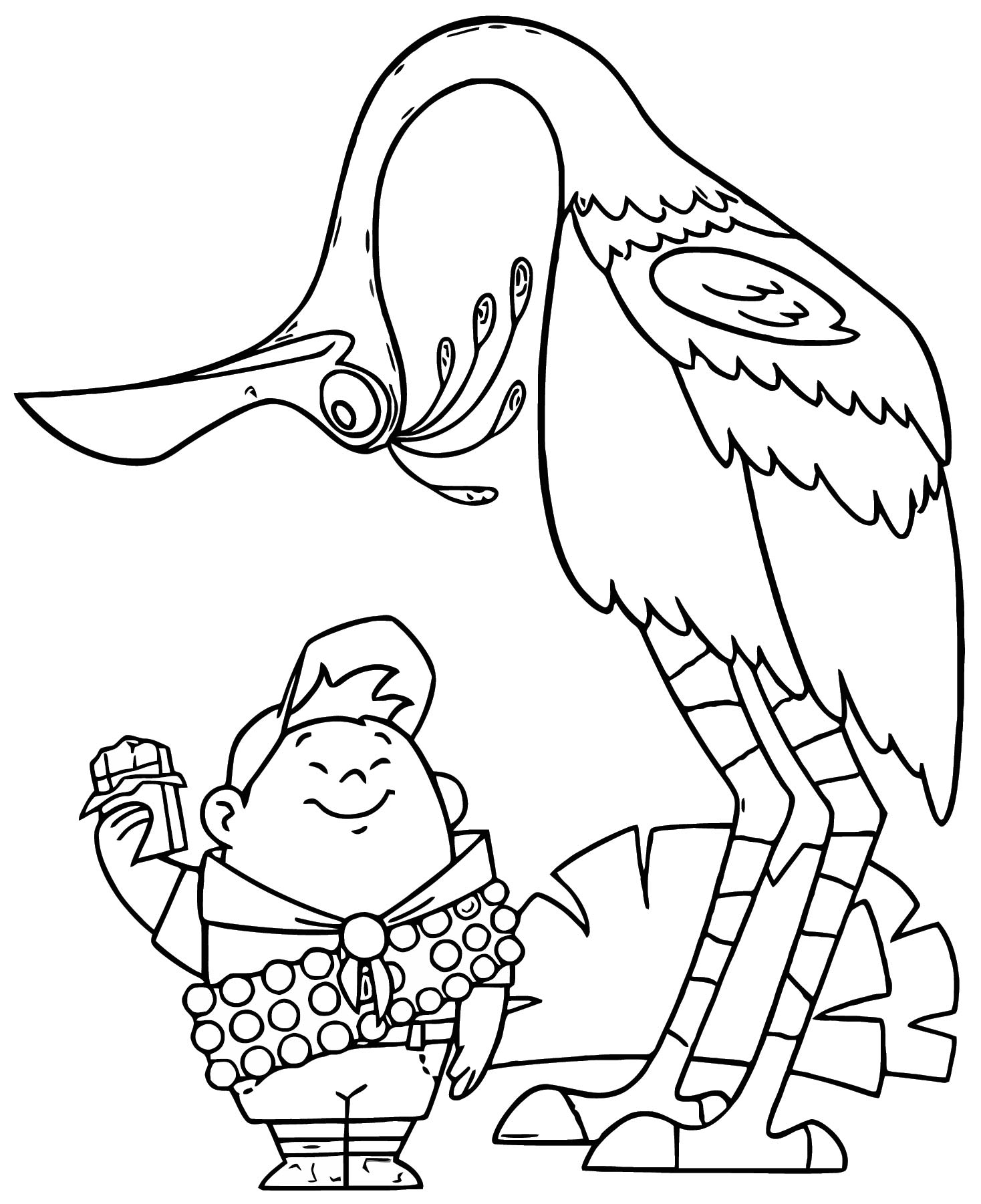 Disney Pixar Up Coloring Pages 04