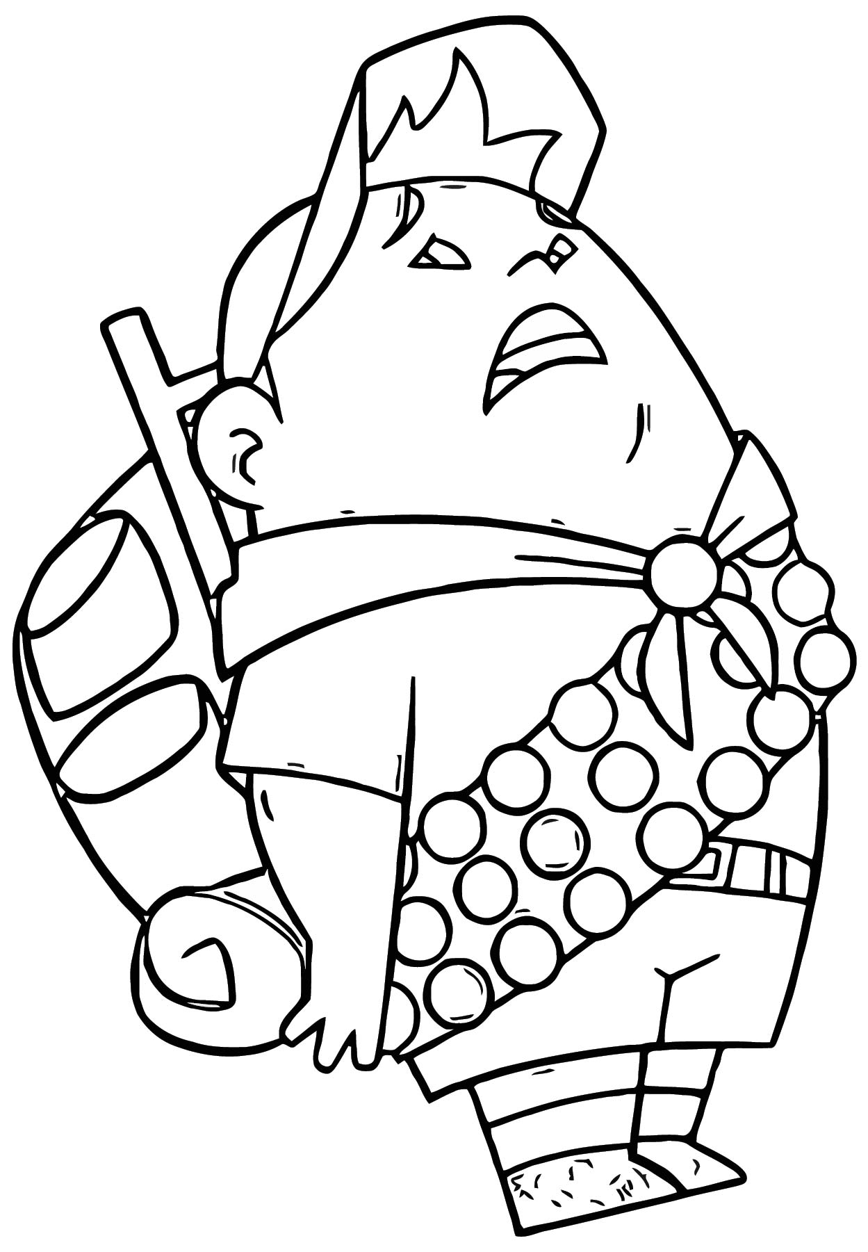 Russell from up coloring pages ~ Disney Pixar Up Coloring Pages 05 | Wecoloringpage.com
