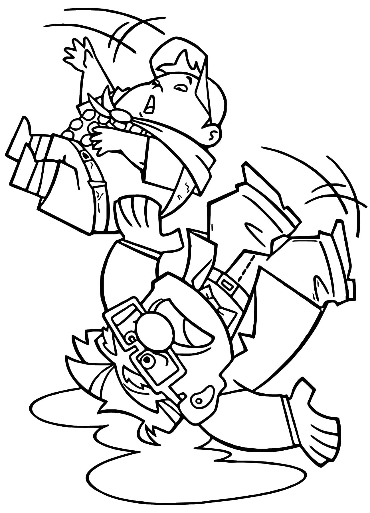 Disney Pixar Up Coloring Pages 07