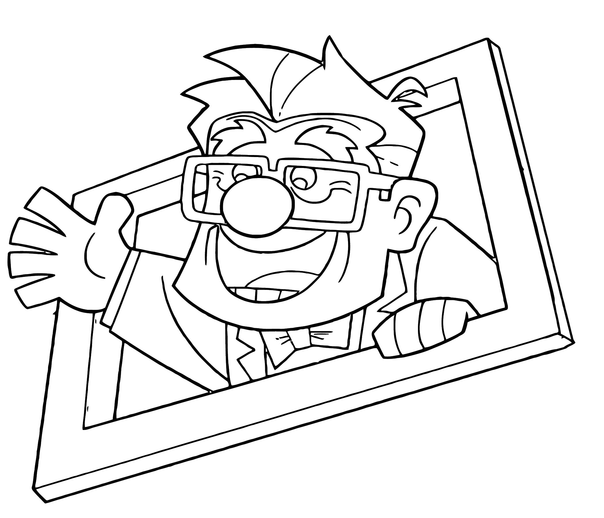 Disney Pixar Up Coloring Pages 10