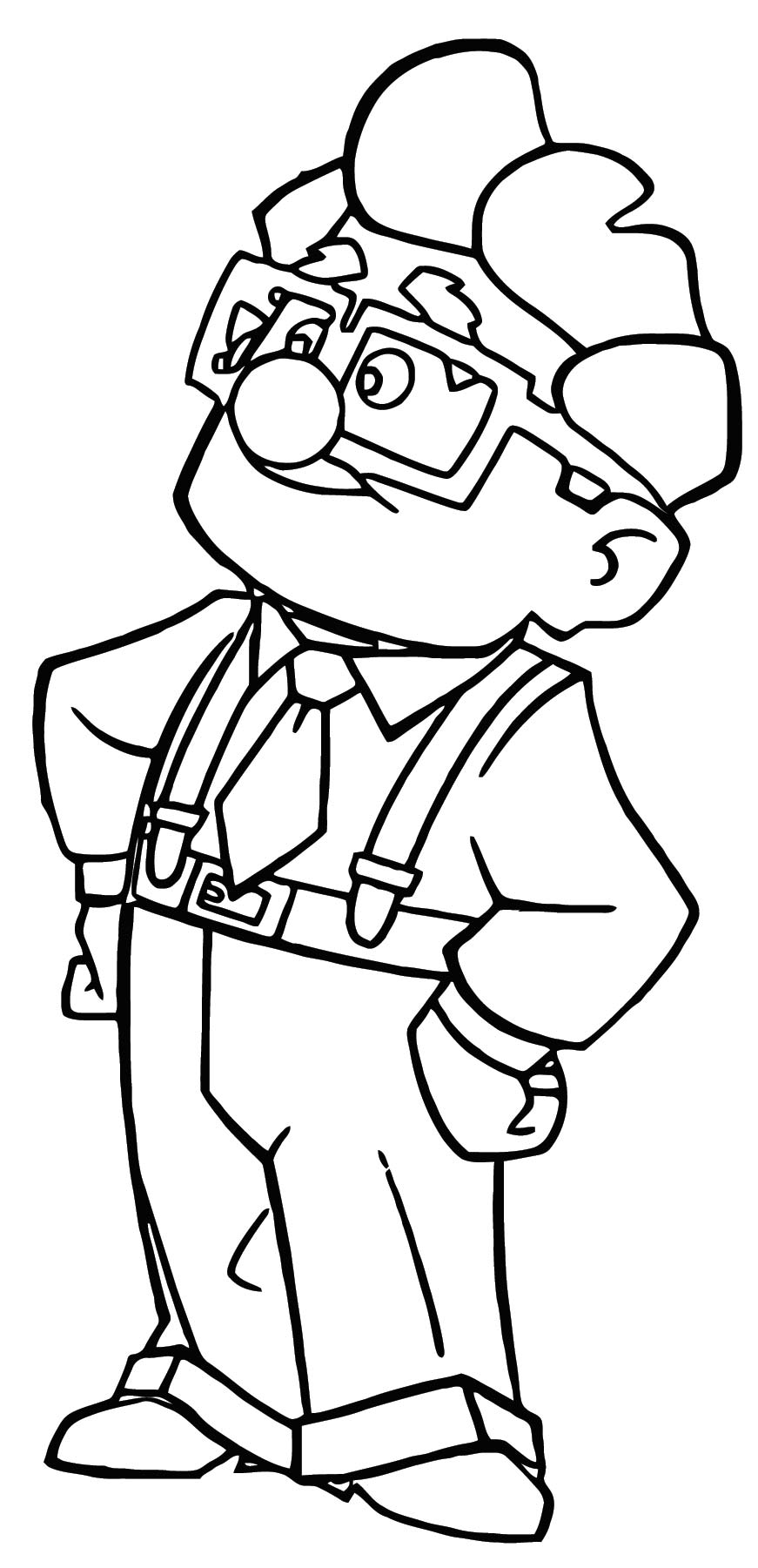 disney up coloring pages - photo#21