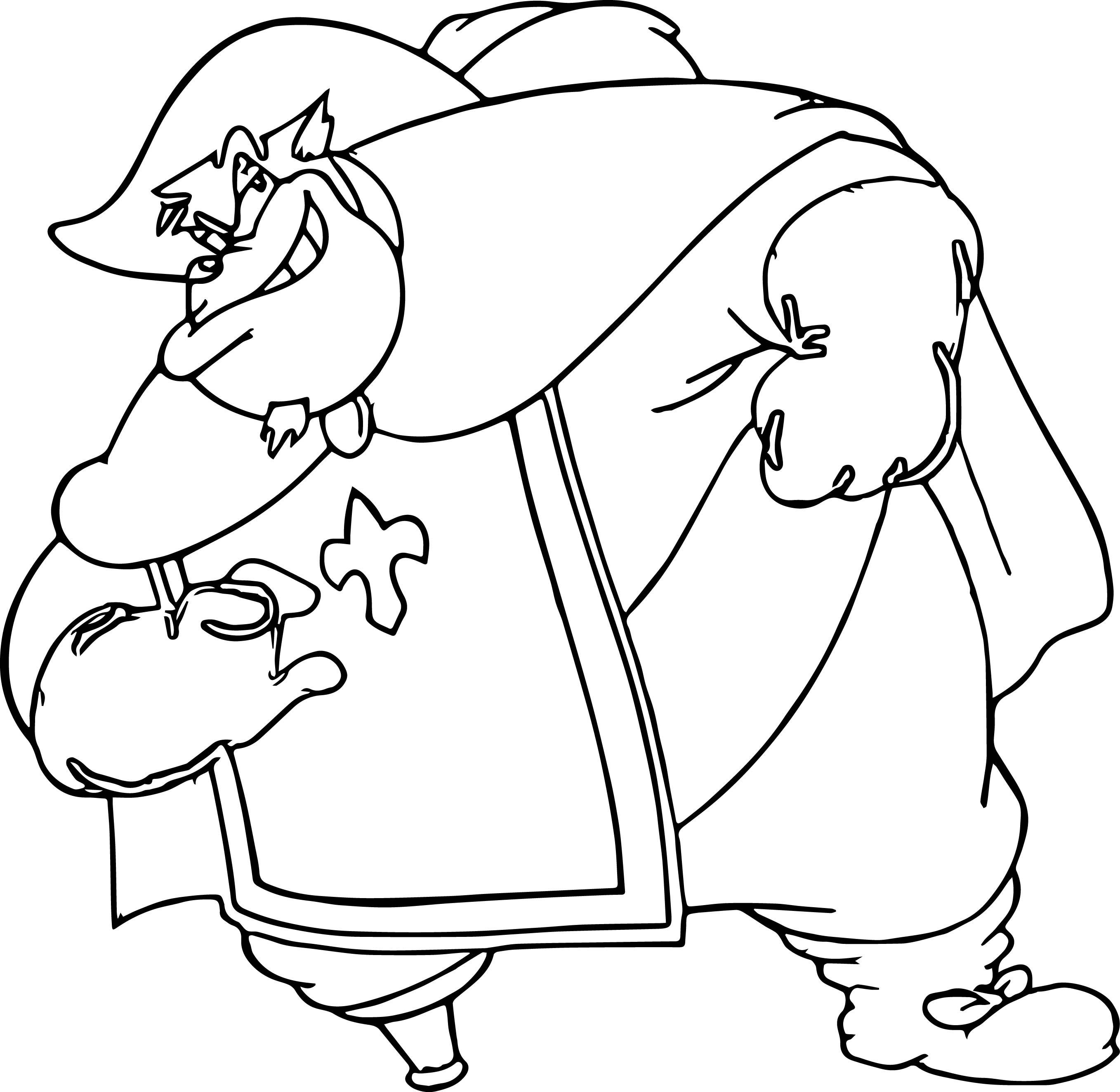 Disney the three musketeers pete coloring pages