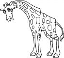 Disney The Wild Animal Giraffe Coloring Pages