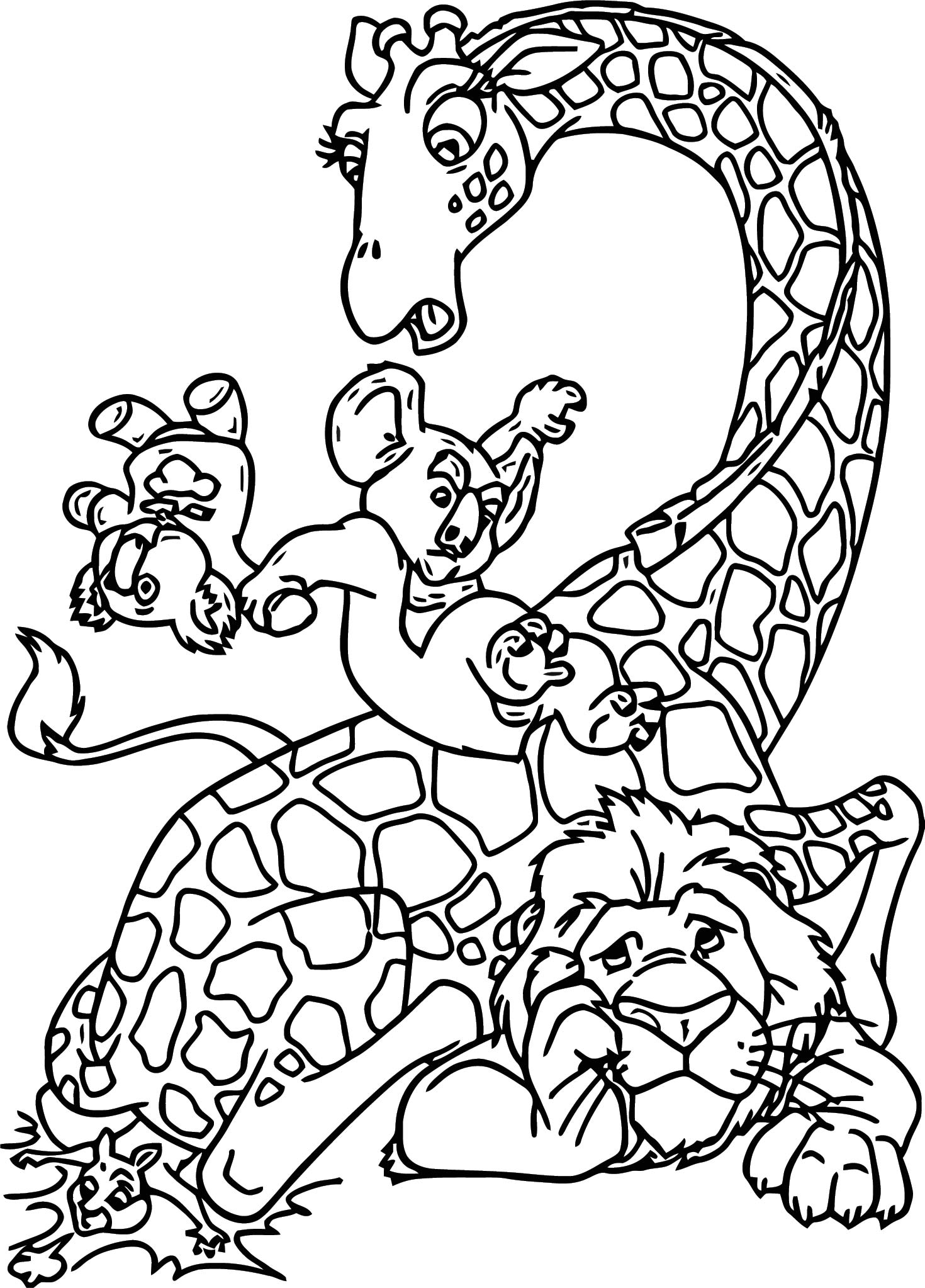 disneys the wild coloring pages - photo#42