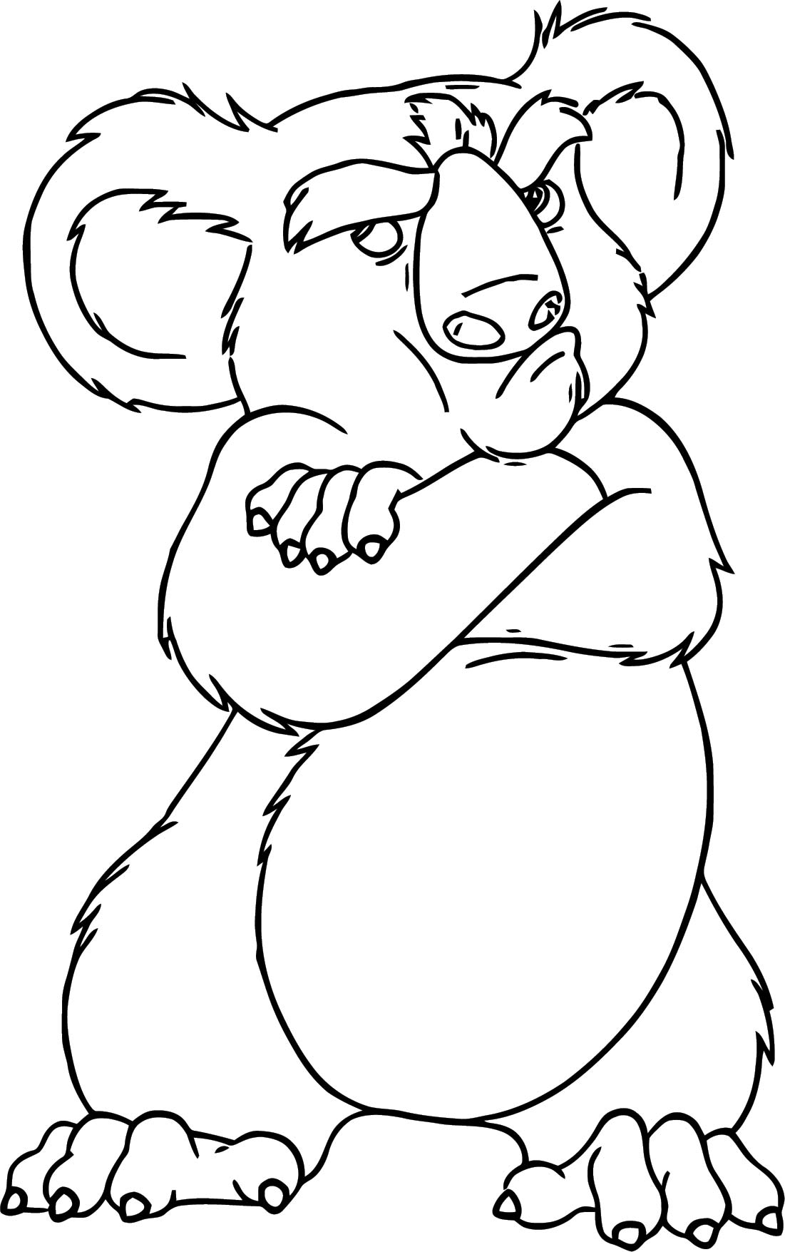 Disney The Wild Coloring Pages 08
