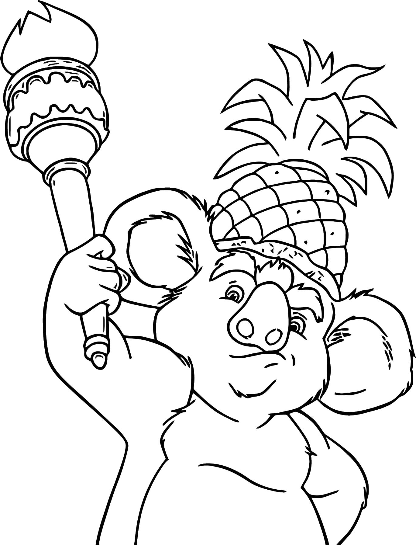Disney The Wild Coloring Pages 13