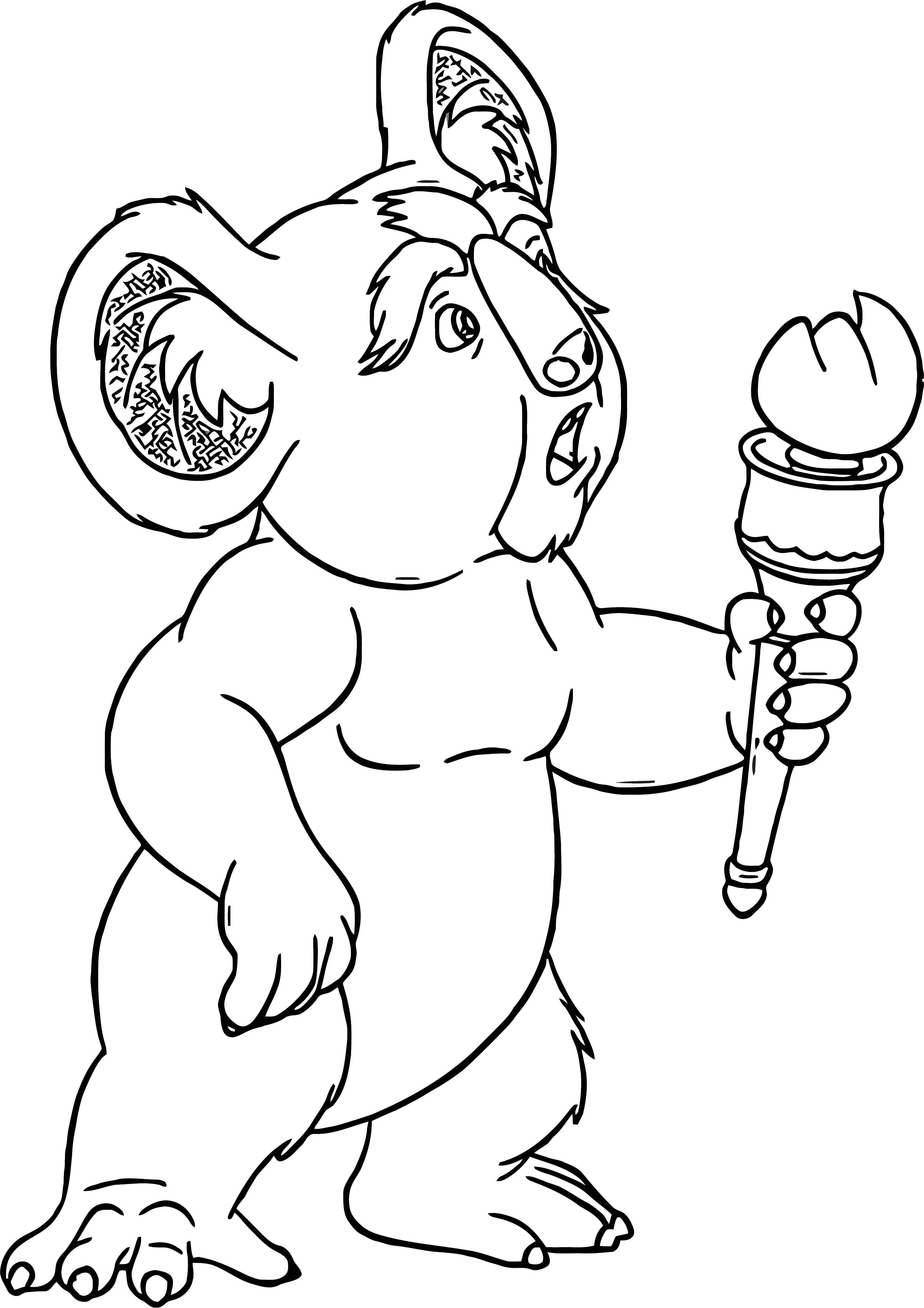Disney The Wild Coloring Pages 15