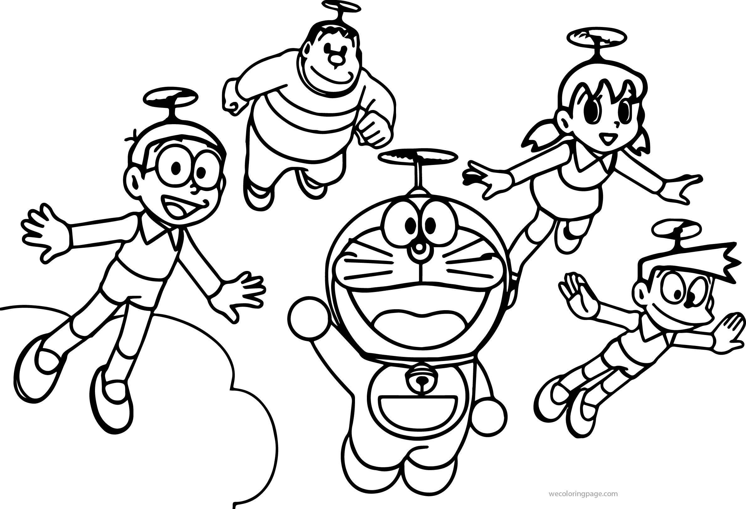 Do Choi Cho Be Hitomi Vn Doraemon Coloring Page