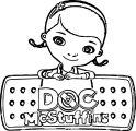 Doc Mcstuffins Coloring Page 4
