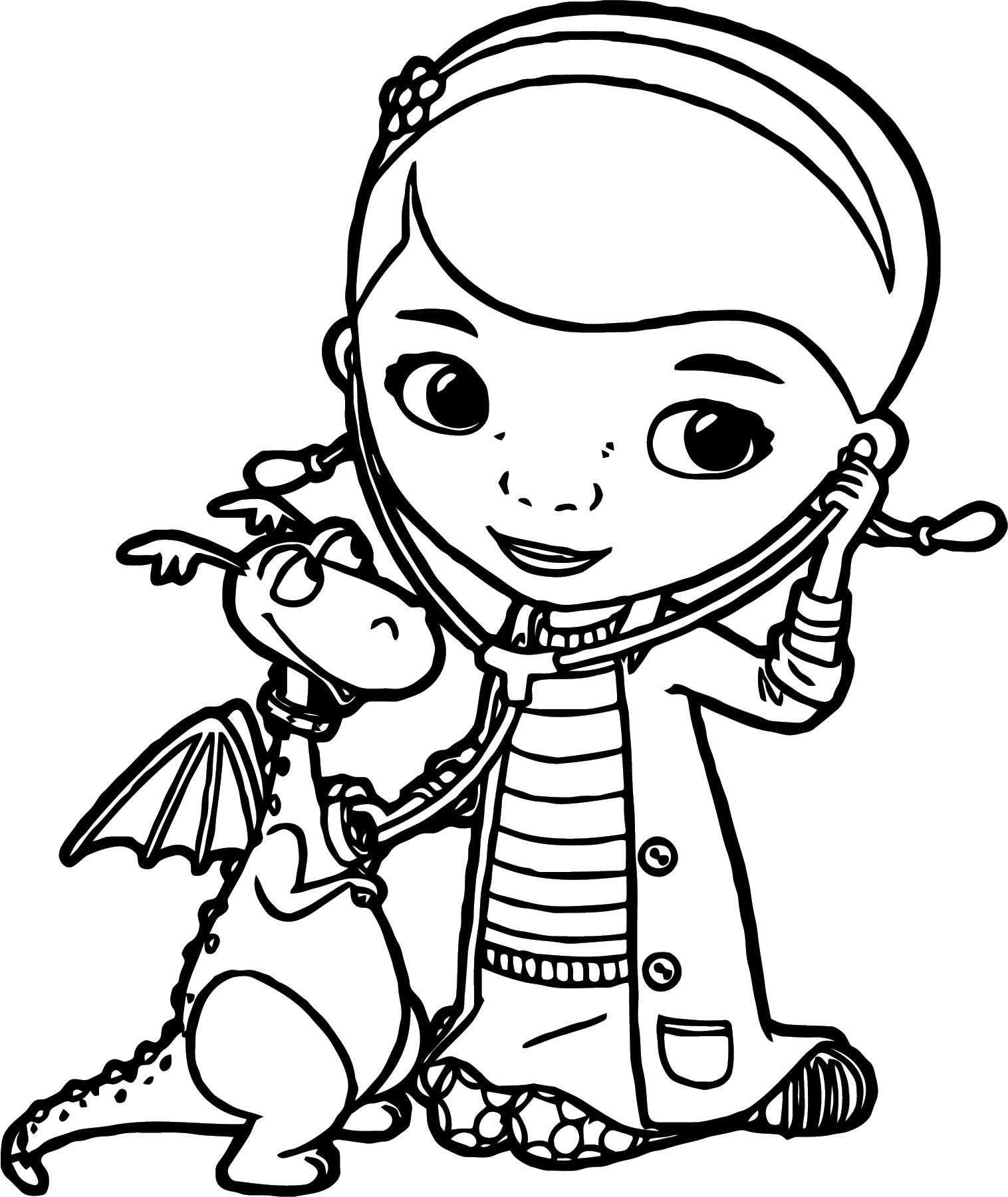 doc mcstuffins printables coloring pages | Doc Mcstuffins Coloring Page 6 | Wecoloringpage.com