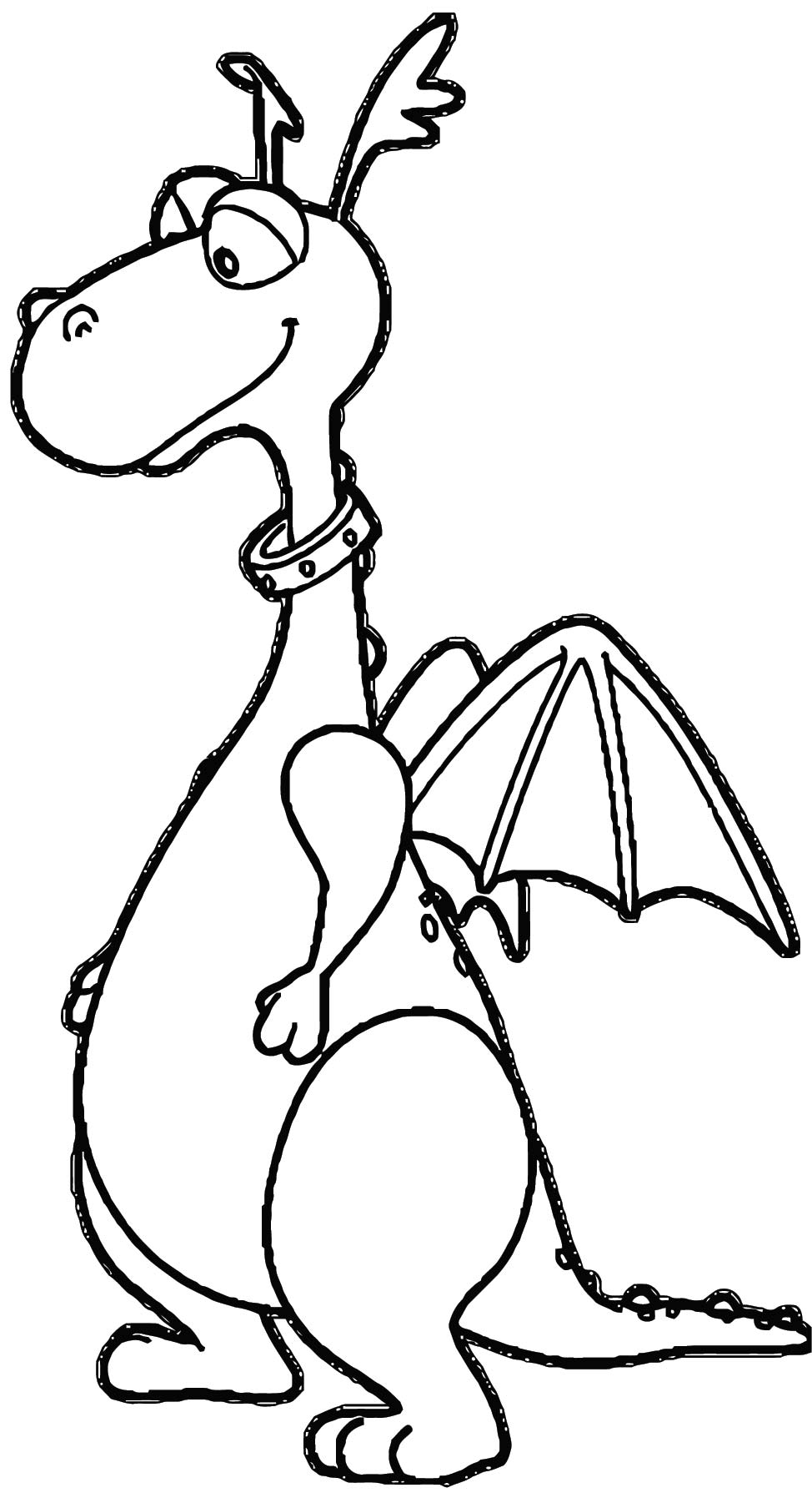Doc Mcstuffins Stuffy Dragon V6 Coloring Page
