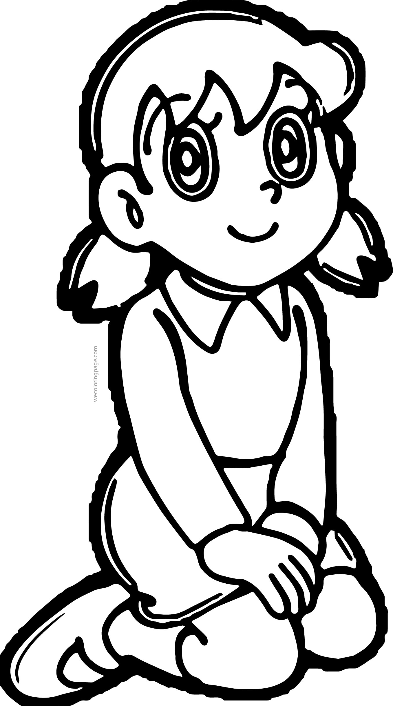 Dora Bratz Girl Coloring Page